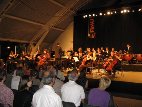 Concert Orchestre symphonique et Orchestre Universitaire de Dijon au FIMU de Belfort - 30 mai 2009