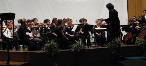 Voyage en Bulgarie- Orchestre symphonique et Orchestre Universitaire de Dijon - Concert à la Faculté des sciences de Sofia - Avril 2009