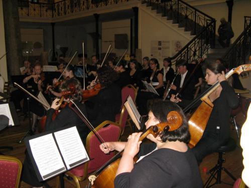 Voyage en Bulgarie- Orchestre symphonique et Orchestre Universitaire de Dijon - Concert au Musée national d'archéologie de Sofia - Avril 2009