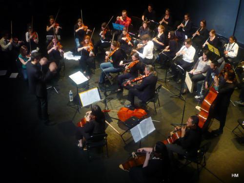 Concert Orchestre symphonique et Orchestre Universitaire de Dijon - Théâtre Mansart de Dijon - 25 mars 2010