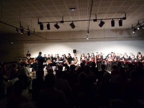 Concert Orchestre symphonique et Chorale Universitaire - Le Gymnase (Besançon) - 24 mai 2012
