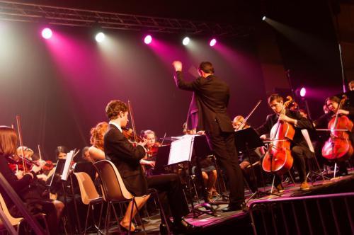 Concert Orchestre symphonique - Ouverture du gala de l'ENSMM - Micropolis (Besançon) - 24 novembre2012