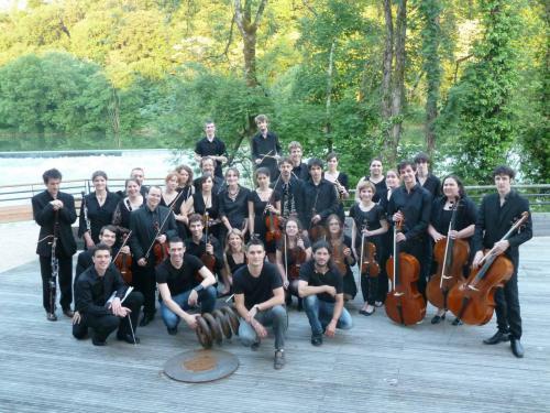 L'Orchestre symphonique accompagne le groupe Archaël - Forges de Fraisans - 08 juin 2013