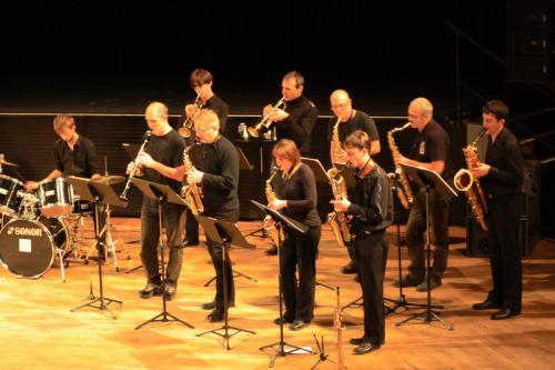 Concert Big Band au Kursaal (Besançon) - 26 novembre 2013