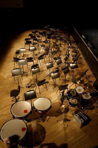 Spectacle Le Chant des voyelles - Coproduction Orchestre Universitaire et Théâtre Universitaire - 02 juin 2014