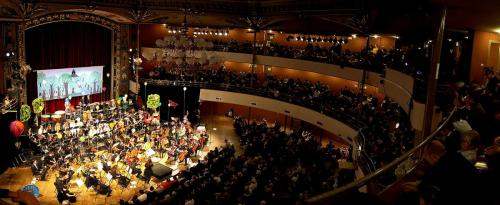 Concert spectacle des 25 ans de l'Orchestre Universitaire - Kursaal (Besançon)- 21 février 2016