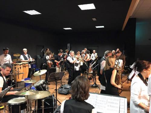Concert Big Band universitaire et BandaJazz de Champvans - Rioz - 18 février 2017