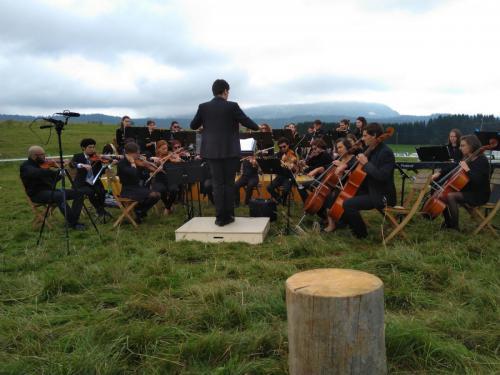 Concert des pâturages - La Grand Borne de l'Auberson (Suisse) - 2 septembre 2018