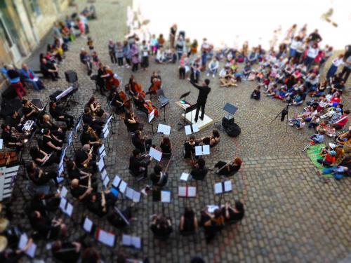 Concert Orchestre Symphonique et Big Band - Médiathèque Pierre Bayle (Besançon) - 5 mai 2018