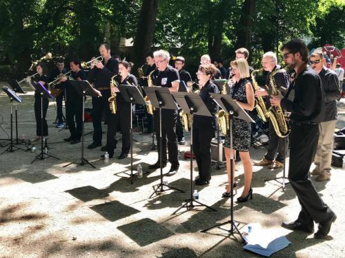 Concert Big Band pour la Journée de l'Europe - place Granvelle (Besançon) - 5 mai - 2018
